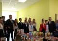 Президент України Петро Порошенко відвідав День відкритих дверей Бориспільського академічного ліцею.