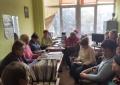 13листопада директор територіального центру соціального обслуговування провела семінар-нараду з соціальними робітниками центру